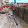 Realizzazione rete idrica in Pozzuoli (NA)