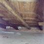 rifacimento cornicione con mattoni